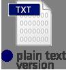 plain text version