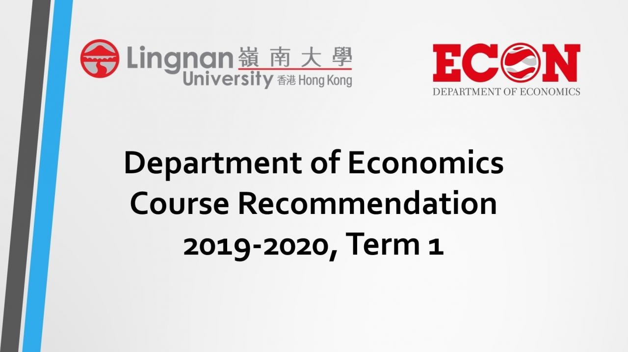 Lingnan-University-Department-of-Economics - Lingnan