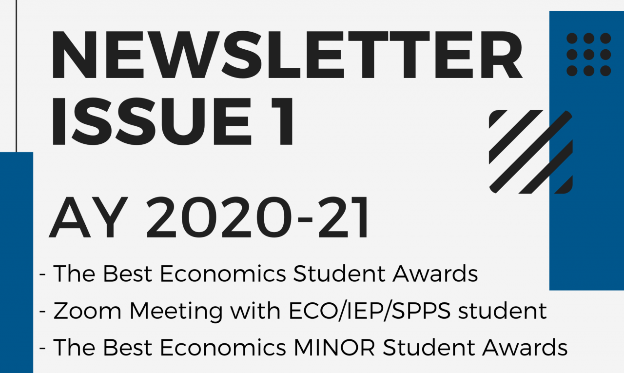 ECON-Newsletter-Issue-1-AY2020-21