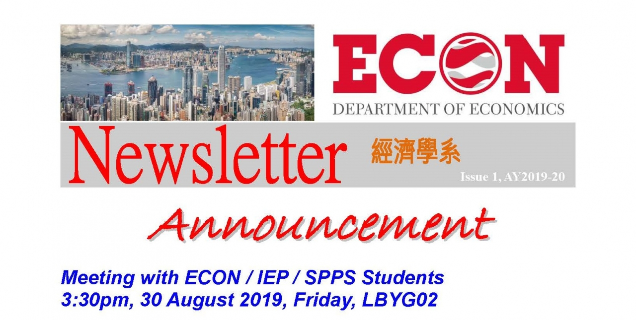 ECON-Newsletter-Issue-1-AY2019-20