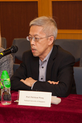 Professor Poh Kam Wong, National University of Singapore, Singapore delivered his presentation