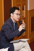 Dr Vincent Wen Zhuoyi, Lingnan University,  joined the Q&A discussion