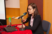 Ms Lan Phan, Ministry of Science and Technology, Vietnam delivered her presentation
