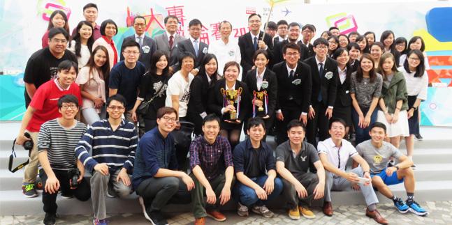 Lingnan won in HK Inter-collegiate Debate Competition