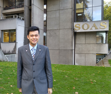 History graduate earns full scholarship to pursue PhD at London Univer