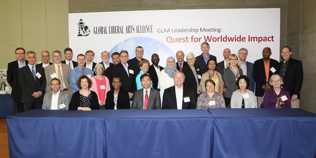 Lingnan University hosts Global Liberal Arts Alliance annual meeting