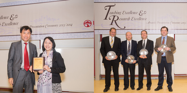 Lingnan awards excellence in teaching and research
