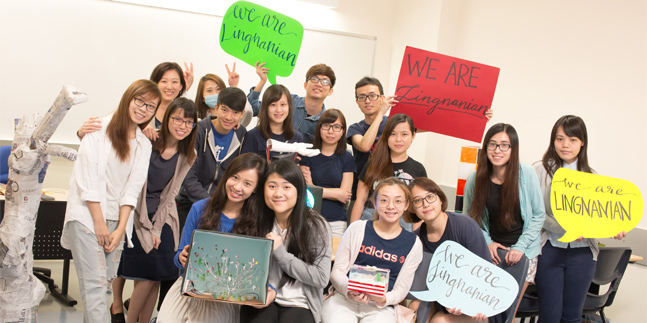 Why Choose Lingnan University?  Because ……..