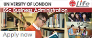 University of London - Full-Time BSc Business Administration