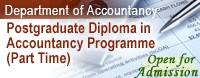 Postgraduate Diploma in Accountancy Programme (Part Time)