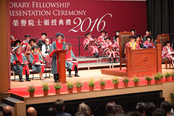 Address at Honorary Fellowship Presentation Ceremony