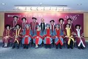 Honorary Fellows with senior management
