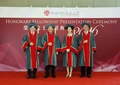 Lingnan University confers honorary fellowships upon four distinguished individuals