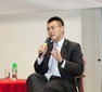 Mr Lau Ming-wai talks about prospects of young people at University Assembly