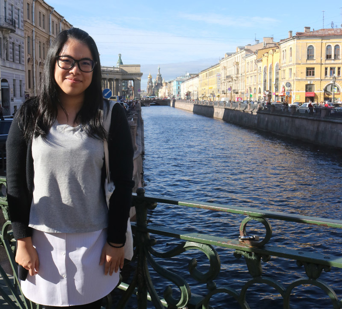 "Marketing student grasps ""Belt and Road"" opportunity by learning business and culture in Russia"