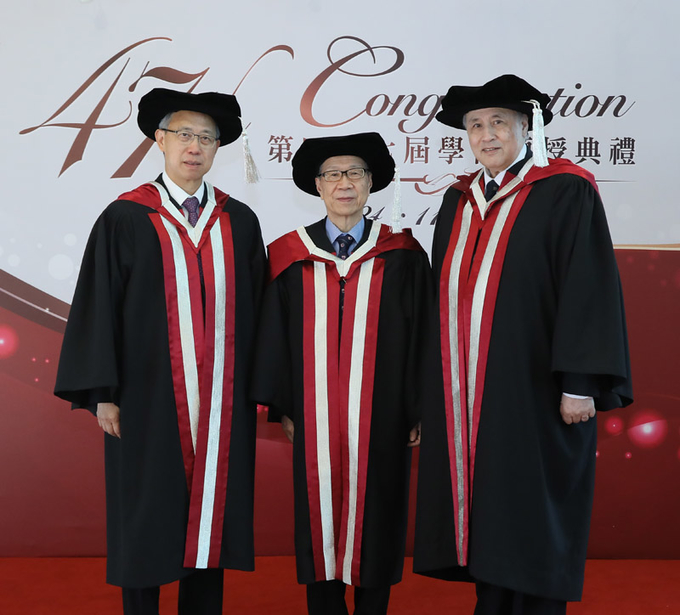 Lingnan University confers honorary doctorates upon four distinguished individuals