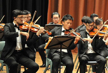 "The ""21st Century Music Education for Young People - Music Dreams Come True Concert"" was held on 14 November on campus"