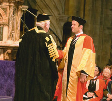 Prof Darrell Rowbottom receives prestigious higher doctorate