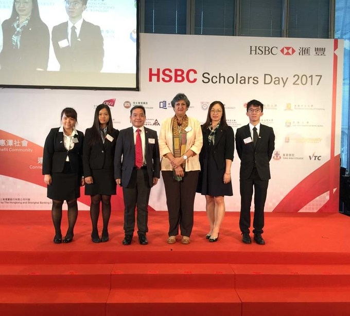 Outstanding Lingnan students obtain HSBC Scholarships