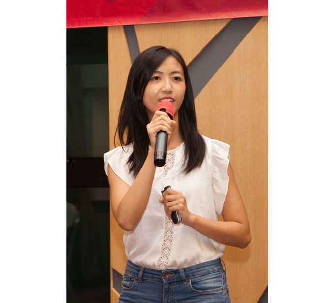 "Lingnan alumna shares her pursuit of dreams at ""Tuesdays with Mentors"""