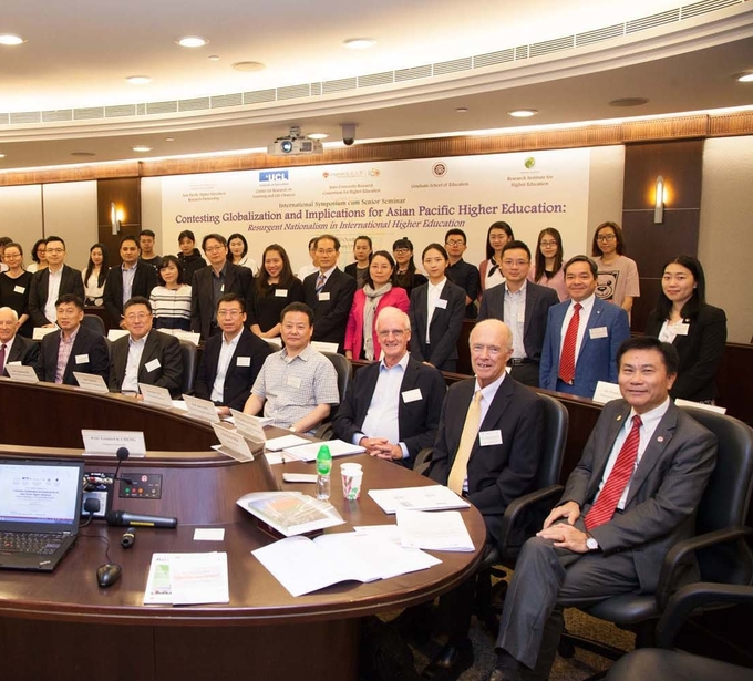 Lingnan organises international symposium to discuss the implications of globalisation on higher education