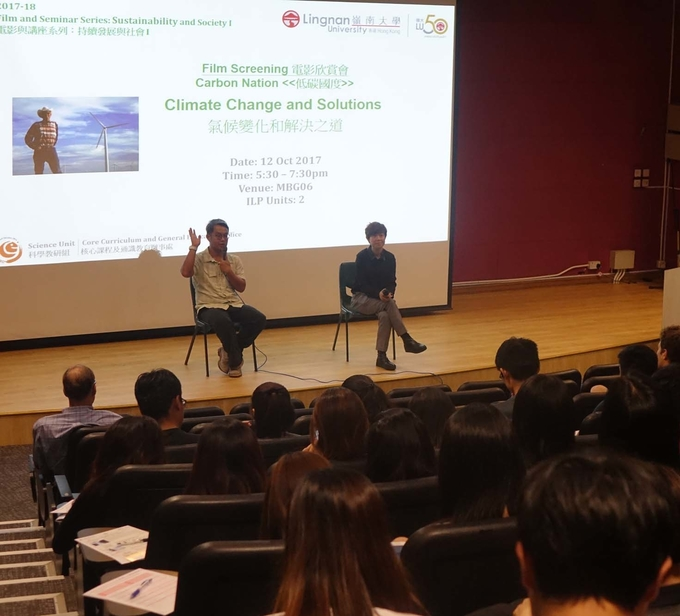 """Carbon Nation"" film screening investigates climate change and its solutions"