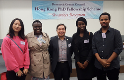 PhD students at Lingnan obtain fellowships from Research Grants Council