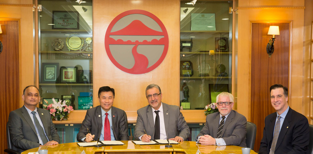 Lingnan University signs agreement with University of Waterloo on undergraduate student exchange
