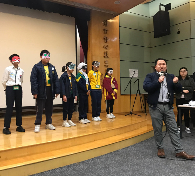 Tuen Mun primary school students experience university life at Lingnan