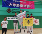 Lingnan's Taekwondo athletes shine at the USFHK Inter-Universities competition