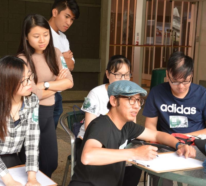 Sketching tour captures the landscape of Lingnan
