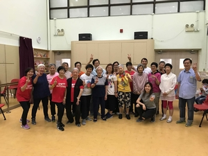 Community collaboration programmes promote intergenerational harmony