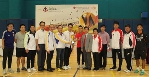 Soccer with Tung Wah Group of Hospital
