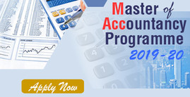 Master of Accountancy Programme 2019-20
