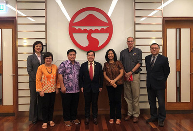 Delegation from Soegijapranata Catholic University visited Lingnan University for benchmarking purpose