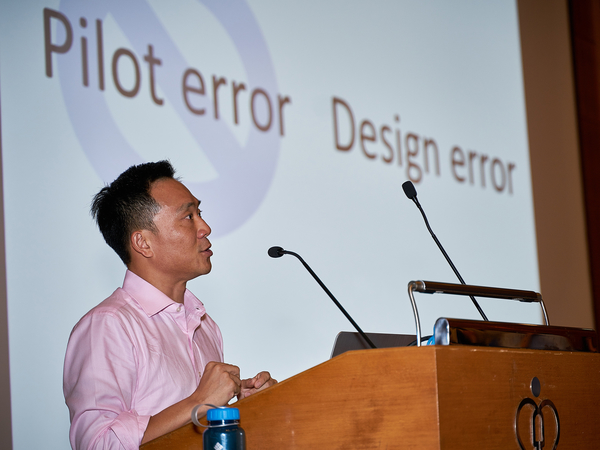 Professor Simon Li was invited by Hospital Authority to deliver keynote talk