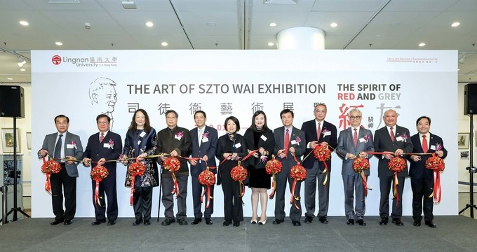The Art of Szto Wai: The Spirit of Red and Grey