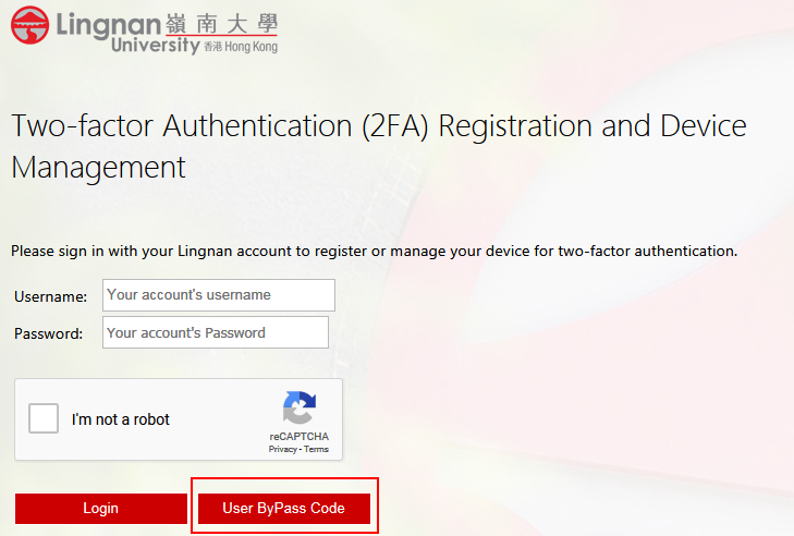 Registration ByPass Code