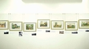 Exhibition of artworks by SZTO Wai, former principal and father of Lingnan's logo