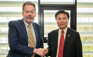 Lingnan's UK Research Ties Grow Ever Stronger - Postgraduate exchange agreement signed with the University of Bath and  new International Research Centre launched with Lingnan as core partner