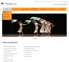 The new Faculty of Arts website enhances mobile accessibility and aesthetics