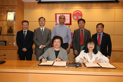 A five-year partnership agreement signed between Lingnan University and Renmin University of China on 8 April to promote collaboration on academic and student exchange