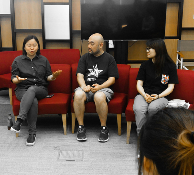 Career or money? Human Library Hong Kong discussed with students at Lingnan University