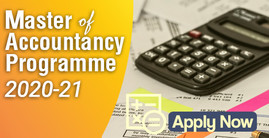 Master of Accountancy Programme 2020-21