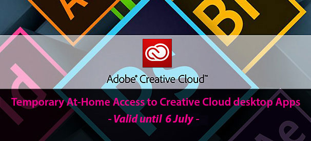 Temporary At-Home Access to Creative Cloud desktop Apps