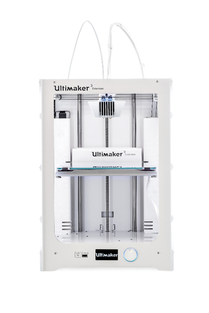 A 3D printer - Ultimaker 3 Extended printer