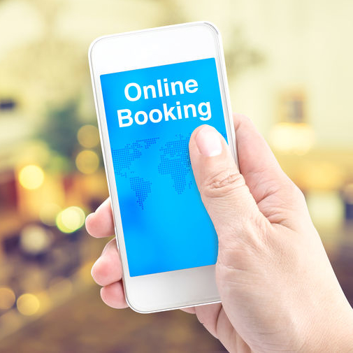 e-booking form