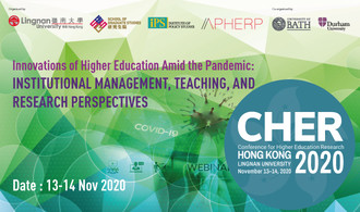 The 3rd Conference for Higher Education Research – Hong Kong 2020 (13-14 Nov 2020)