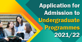 Application for Admission to Undergraduate Programmes 2021/22