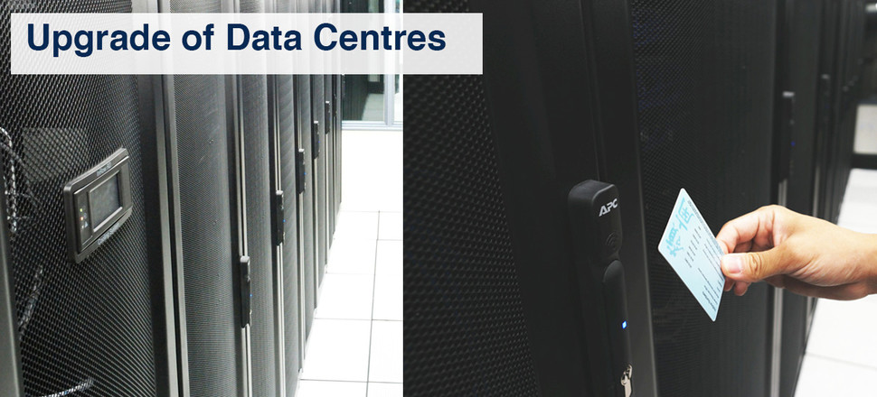 Upgrade of Data Centres